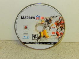 VIDEO GAME- USED--PLAYSTATION 3 MADDEN NFL 10 --- DISC ONLY--- PS3 - $2.95