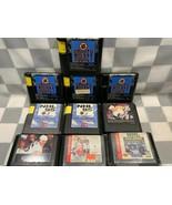 Lotto di 10 Sega Genesis Hockey NHL Video Gioco Cartuccia Brett Hull Gre... - $20.82