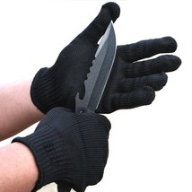 Outdoor Gloves Cutting Thicken Strengthen Field Steel Wire Protection Ki... - $13.94