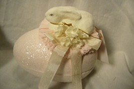 Bethany Lowe Bunny on Candy Container image 1