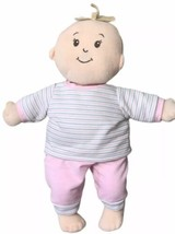 "The Manhattan Toy Plush Stuffed Boy Doll Toy Pink & White Outfit 12"" - $38.11"