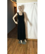 Another Thyme Women's Dress Size 14 Vintage Black with Sparkling Floral ... - $51.52