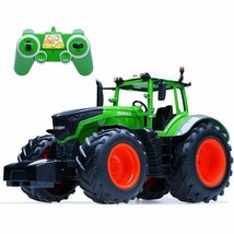 RC Truck Farm Tractor 2.4G Remote Control Trailer Dump/Rake 1:16 High Si... - $33.85+