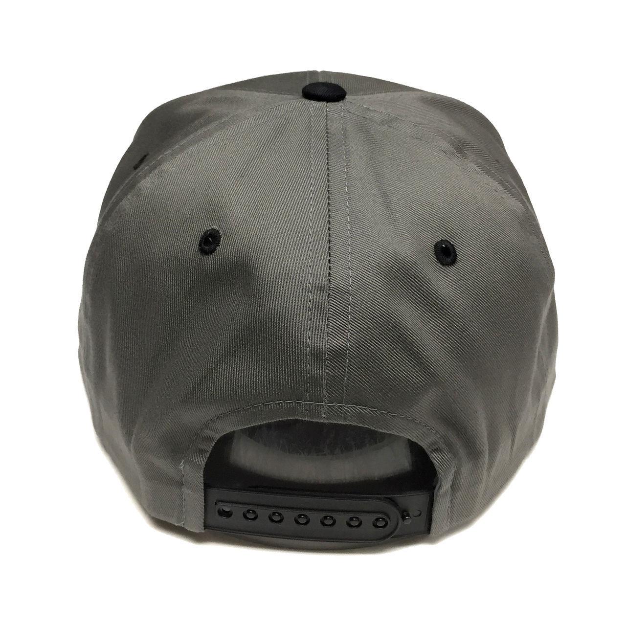 6c7c9639e48 Zephyr NHL Los Angeles Kings Hat Gray Black Vintage Retro Snapback Cap