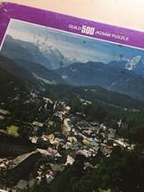 "Vintage 50s Whitman Guild Jigsaw Puzzle- #4615-4 ""Berchtesgaden, Germany""  image 4"