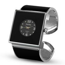 Women Watch Quartz Stainless Steel Bracelet Bangle Rhinestone Unique Wri... - $9.99
