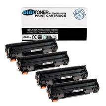 4 35A CB435A Toner Cartridge for HP LaserJet P1002 P1003 P1004 P1005 P10... - $30.97