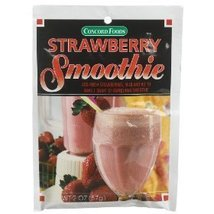 Concord foods Strawberry Smoothie Mix, 2 Oz Package - $6.69