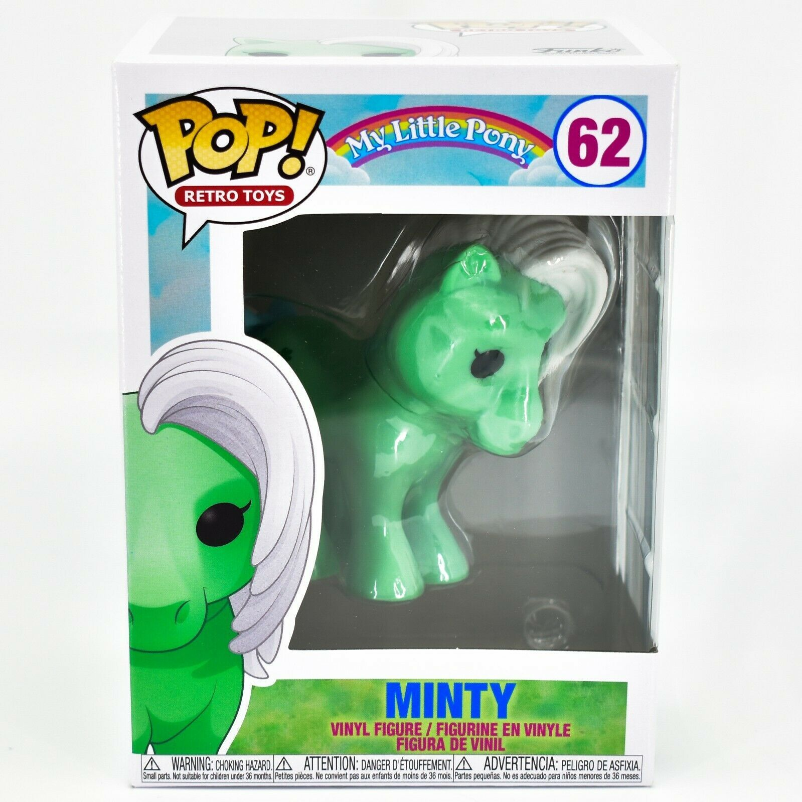 Funko Pop! Retro Toys My Little Pony MLP Minty Shamrock #62 Vinyl Figure