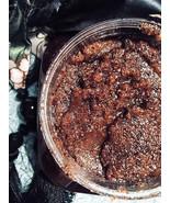 Organic Fresh Coffee Butter Hazelnut & Himalayan Pink Salt Body Scrub Ce... - $7.50