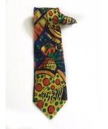 Pizza Hut Employee Manager Pizza Vintage Novelty Tie Necktie - $29.69