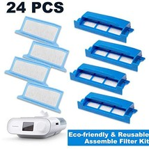 CPAP Filters 24 Packs: Assemble Filter into Reusable Frame Kit - 4 Assem... - €22,98 EUR
