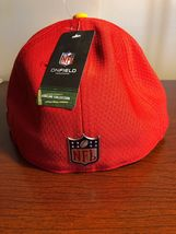 New Era 59Fifty Hat Kansas City Chiefs NFL 2017 On Field Sideline Fitted Hat!! image 9