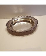 Reed & Barton 7040 Provincial Oval Bowl silverplated - $29.00