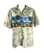 Pacific Legend Beer Bottles Sunglasses Beach Palms Large Hawaiian Aloha ... - $33.06