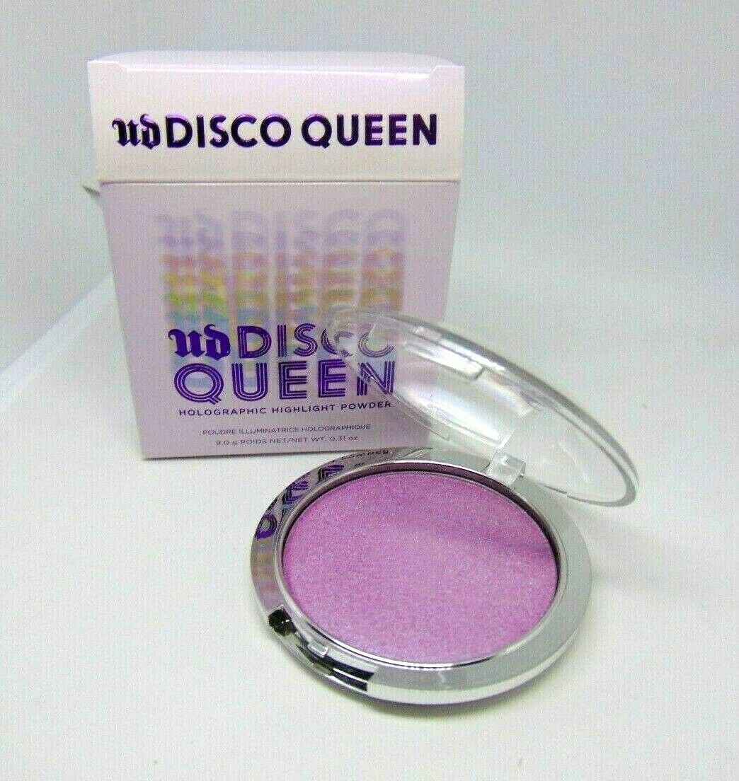 URBAN DECAY DISCO QUEEN Holographic Highlight Powder  0.31oz./9g NIB - $19.75