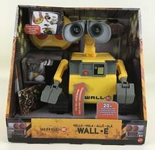 Hello Wall E RC Remote Control Toy Light up Sounds Mattel Disney Pixar 2019 New - $222.70
