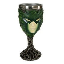 Greenlady Wine Goblet Collectible Figurine - $18.98