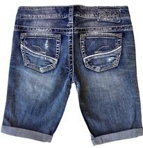 New SILVER Jeans Sale Buckle Low Destructed Frances Denim Jean Stretch S... - $24.97