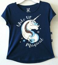 Max & Olivia Girl Sleepwear Tee Shirt Navy Short Sleeve Size L/10-12 NEW... - $22.79