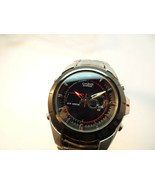 VINTAGE CASIO EDIFACE WORLD TIME THERMOMETER DUAL CHRONO QUARTZ WATCH TO... - $173.37