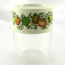 Pyrex Spice of Life 6 Ounce Store n See Canister w/ Plastic Lid ~ Made i... - $14.95