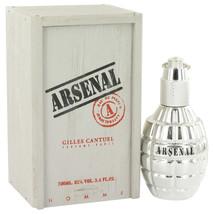 Platinum by Arsenal Eau De Parfum  3.4 oz, Men - $18.84