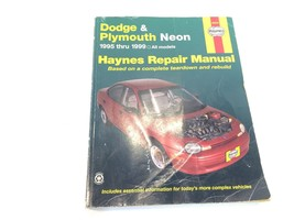 1995-99 Haynes Dodge & Plymouth Neon Repair Manual 7F6-30034 - $8.99