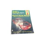 1995-99 Haynes Dodge & Plymouth Neon Repair Manual 7F6-30034 - $8.99