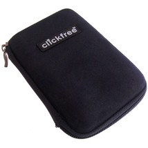 """Clickfree ZIP025B Hard Shell Zippered Protective Case for 2.5"""" External HDD - $6.43"""