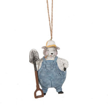 Sheep w/Shovel Ornament - $12.95