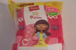 NWT Hanes Girls Briefs Sz 8 Tagless ComfortSoft Cotton Underwear 12 Pairs Pinks - $18.65