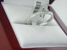 14k White Gold Diamond All Around Stackable Band Ring .(0.20 ct. t.w.)  - $293.02