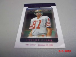 "2005 Topps Chrome #158 Dwight Clark -San Francisco 49ers- ""THE CATCH 1-10-82"" - $2.97"