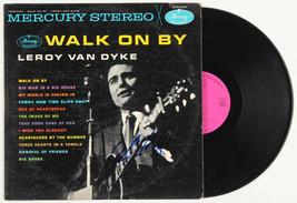 Leroy Van Dyke Signed Autographed Walk On By Vinyl Record Album Beckett COA - $144.99