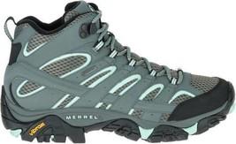 Merrell Women Moab 2 Mid Gore-Tex Sedona Sage Blue Waterproof Trail Boots J06060 - $155.99
