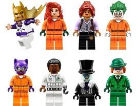 8pcs Batman Prison Poison Ivy Joker Aaron Barbara Penguin Lego Minifigur... - $16.25