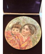 Royal Doulton Sayuri & Child Japanese Mother Child, Edna Hibel Plate - $24.99