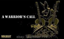 Volbeat A Warrior's Call 3'x5' flag banner heavy metal rock - USA Seller... - $25.00