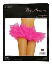 NEW LEG AVENUE WOMEN'S SEXY TUTU BALLET DANCE SKIRT A1705 ONE SIZE HOT PINK