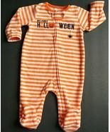 Baby Girl Boy Carter's 3M Baby 1st Halloween Fleece Foot Sleeper Costume... - $8.95