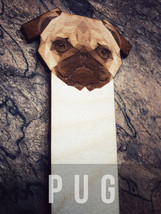 Engraved Pug Bookmark - $10.00