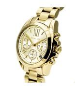 Michael Kors Women's Watch MK5798 Gold Bradshaw Stainless-Steel Fashion ... - $159.00