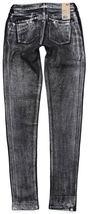 NEW NWT LEVI'S 535 JUNIOR'S PREMIUM CLASSIC SKINNY JEAN LEGGINGS BLACK 190050033 image 5