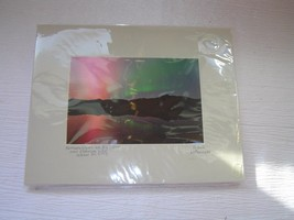 Estate Artist Signed Patrick Lafrenier NORTHERN LIGHTS Photograph Matted... - $7.69