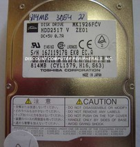 Lot of 10 MK1926FCV Toshiba HDD2517 815MB 2.5in IDE Drive Tested Free US... - $192.74