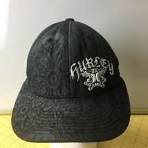 Graphic Black Hurley  Flexfit Cap Hat Caps Hats Snapbacks - $19.55