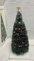 Department 56 Village Lighted Town Tree with 50 Mini LED Light Strand #5... - $74.24