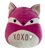 "Squishmallow Fifi Pink Fox Hearts Plush Raccoon Stuffed Animal Scented 16"" - $32.68"