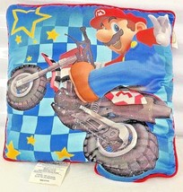 Super Mario Bros Nintendo 2010  Throw Pillow Faded  - $15.65